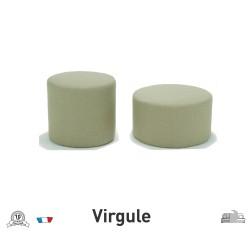 Pouf Virgule
